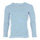 Námornícke tričko ruské svetlomodré 46